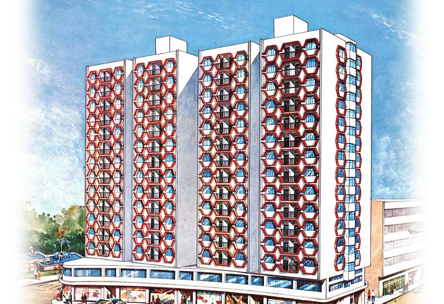 1973年-𧙗滿新邨建造工程 Residential Development At Iao Hon (舊照)